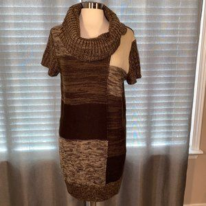 Style & Co sweater dress L like NEW!